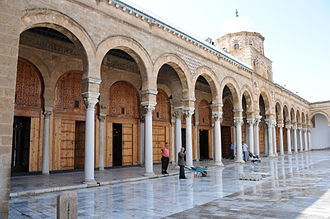 Medina of Tunis - Zitouna Mosque Court