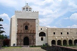 Acolman - Facade of the former monastery