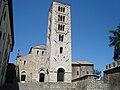 Facade et campanile cathédrale Santa-Maria d'Anagni.JPG
