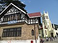 Facades of State Library and Christchurch Cathedral - The Mall - Shimla - Himachal Pradesh - India (26501099296).jpg