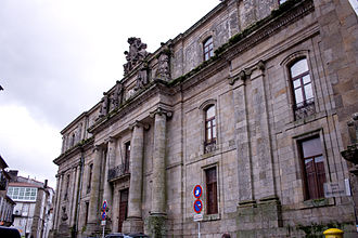 University of Santiago de Compostela - Geography and History building