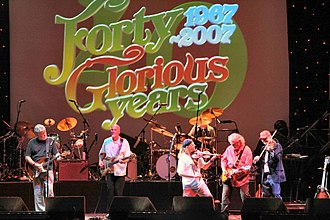 Fairport Convention - The band celebrating their 40th anniversary in 2007