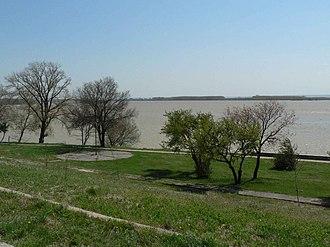 Olt County - Danube at Corabia