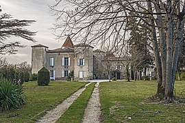 The chateau in Falga