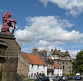 Falkland Palace hosts the world's oldest tennis court still in use. - panoramio.jpg