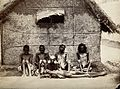 Famine in Mysore, India; six emaciated men wearing loin cloths. Wellcome V0029719.jpg
