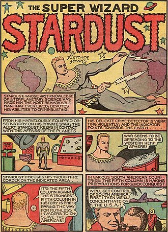 Stardust the Super Wizard - Image: Fantastic Comics 14 page