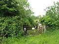 Farm gate at Cruicerath, Co. Meath - geograph.org.uk - 1895206.jpg