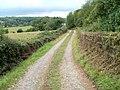 Farm track adjacent to M4 motorway - geograph.org.uk - 2057033.jpg