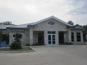 Jewett, Texas - Image: Farmers State Bank, Jewett, TX IMG 2291