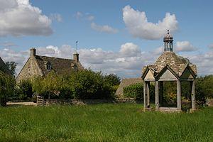 Farmington, Gloucestershire - Image: Farmington Village Green