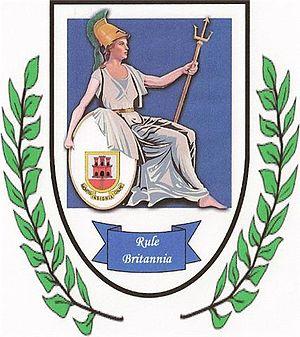 F.C. Britannia XI - Old logo