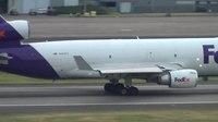 File:FedEx N595FE MD-11 Takeoff Portland Airport (PDX).ogv