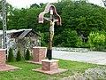 Fedett kereszt, 2012. Gola-Berzence között, Keresztfa - panoramio.jpg