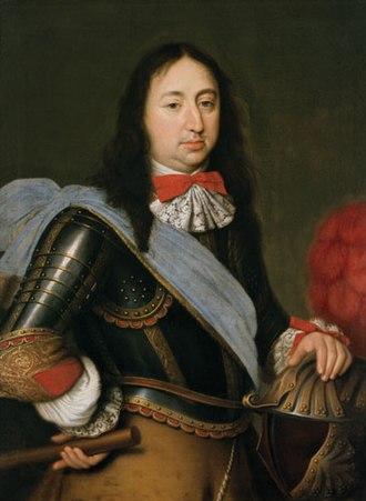 Ferdinand Maria, Elector of Bavaria - Portrait by Paul Mignard