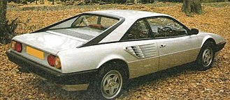 Ferrari Mondial - Rear view of Mondial 8