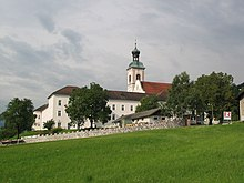 Fiecht Abbey from ENE 2007