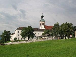 St. Georgenberg-Fiecht Abbey - Fiecht Abbey from the east