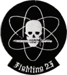 Fighter Squadron 23 (U.S. Navy) insignia, in 1956.png
