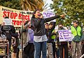Filipinx at San Francisco July 2016 rally against police violence.jpg