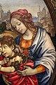 Filippino lippi, sacra famiglia coi ss. giovanni battista e margherita, 1495 ca. 04.jpg