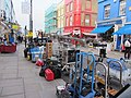 "Filming of ""Paddington"" (2014) on Portobello Road corner of Denbigh Mews, London 26 Nov 2013.JPG"