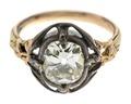 Fingerring av guld med briljant, 1700-talets mitt - Hallwylska museet - 110188.tif