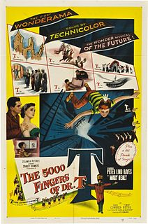 <i>The 5,000 Fingers of Dr. T.</i> 1953 film by Roy Rowland