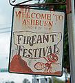 Fire Ant Festival sign, Ashburn, GA, US.jpg