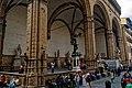 Firenze - Florence - Piazza della Signoria - View SW on Loggia dei Lanzi.jpg