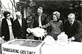First Lady Pat Nixon receives the 24th White House Thanksgiving Turkey 1971.jpg
