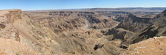 Fish River Canyon - Panorama from Main View Point