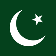 detail of flag of Pakistan
