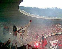 La tifoseria del Flamengo all interno del Maracanã.