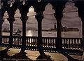 Flickr - …trialsanderrors - San Giorgio from Doges' Palace by moonlight, Venice, Italy, ca. 1895.jpg