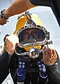 Flickr - Official U.S. Navy Imagery - A Navy diver conducts a pre-dive equipment check. (1).jpg
