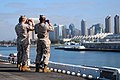 Flickr - Official U.S. Navy Imagery - Marines on the flight deck take photos of the San Diego skyline..jpg