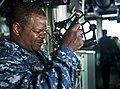 Flickr - Official U.S. Navy Imagery - Sailor looks through a stadimeter during exercise aboard USS Makin Island..jpg