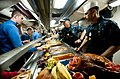Flickr - Official U.S. Navy Imagery - Sailors serve a Thanksgiving meal..jpg