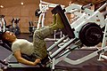 Flickr - The U.S. Army - Working out at the Air Calvary Gymnasium on Camp Taji, Iraq.jpg