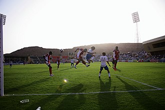 Oman Football Association - Oman plays against Japan in the qualifying rounds for the 2010 FIFA World Cup