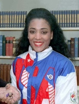 Florence Griffith Joyner - Griffith Joyner in 1988