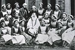 "Image result for 1886 - ""The Nightingale"" was first published. It was the first magazine for nurses."
