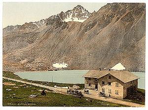 Flüela Pass - Flüela Hospice, c. 1900