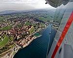 Flug mit dem Zeppelin über Meersburg, Bodensee. 01.jpg