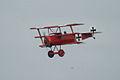 Fokker Dr.I Manfred Richthofen Pass two 01 Dawn Patrol NMUSAF 26Sept09 (14413271570).jpg