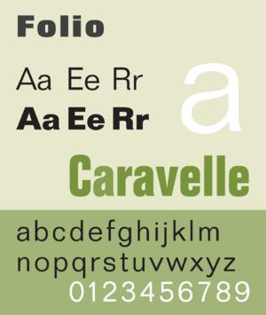 Folio (typeface)