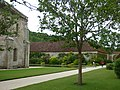 Fontenay Abbey - The forge and The Porter's Lodge and the Hostelry (35713238741).jpg