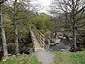 Footbridge over Bollihope Burn - geograph.org.uk - 1271264.jpg
