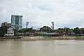 Footbridge under Construction - Babu Ghat - Hooghly River 2016-10-11 0277.JPG